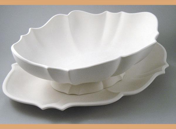 Centrotavola e alzate ceramiche acquatonda - Arreda la tua casa ...